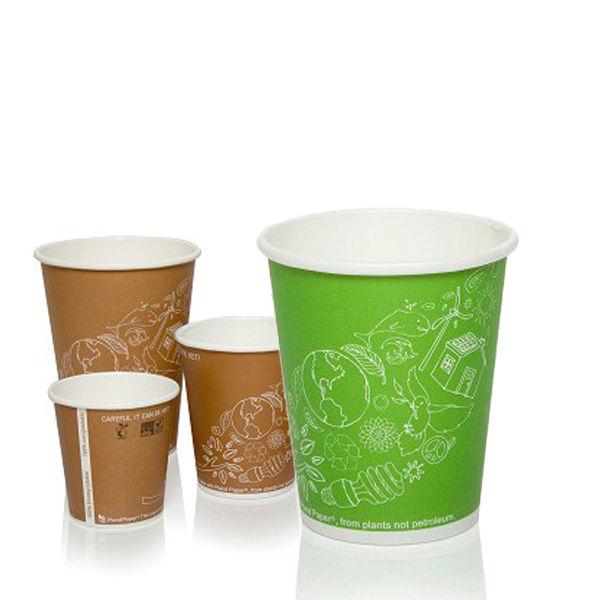 BIO Koffiebekers (afbreekbaar)