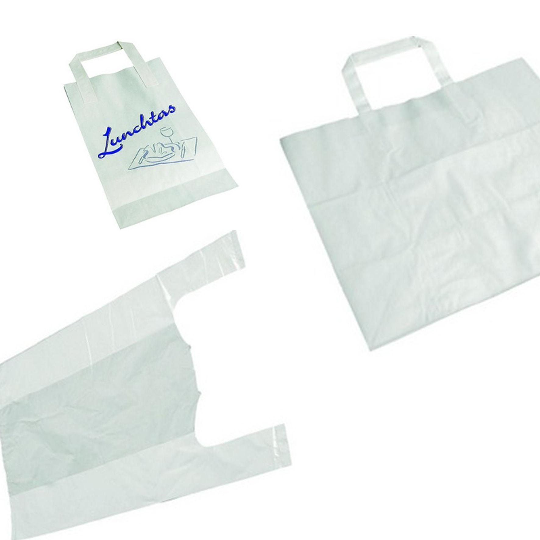 Plastic en papieren zakken tassen de goedkoopste for Papieren zakken bedrukken