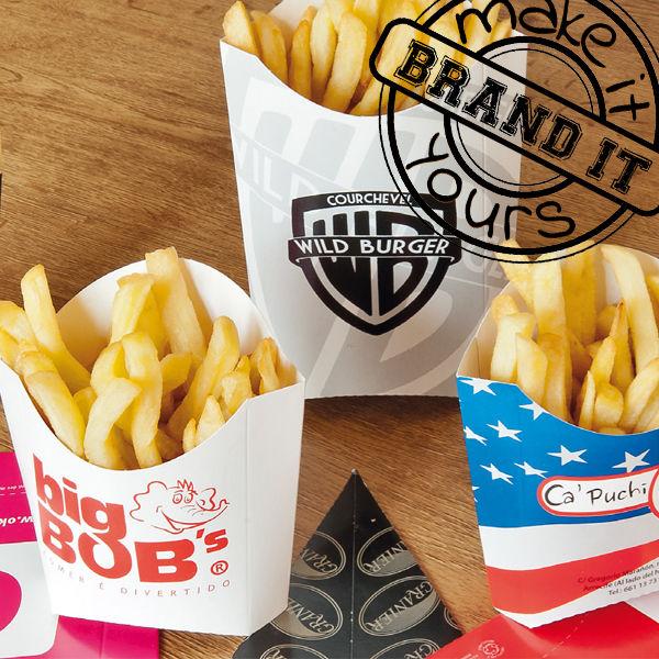 Bedrukte Fastfood Disposables