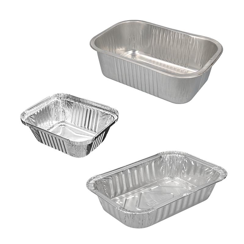 Rechthoekige Aluminium Bakjes
