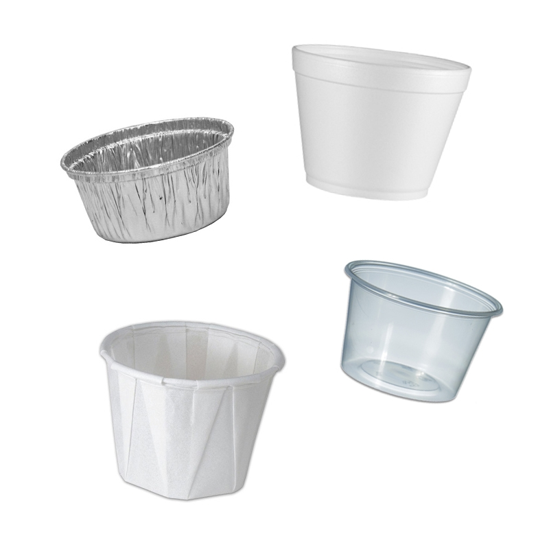 Saus Cups & Deksels