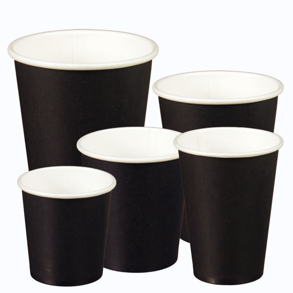 Zwarte Koffiebekers