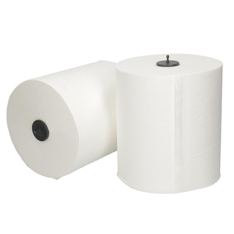 Afbeelding van Handdoekrollen Matic 21cm 150m 2 laags wit