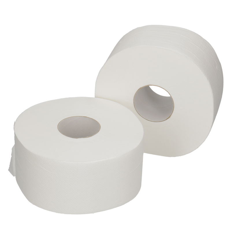 Afbeelding van Toiletpapier Mini Jumbo 180m 2 laags hoogwit