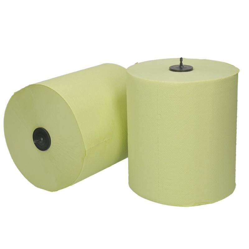 Afbeelding van Handdoekrol Matic 21cm 150m 2 laags groen