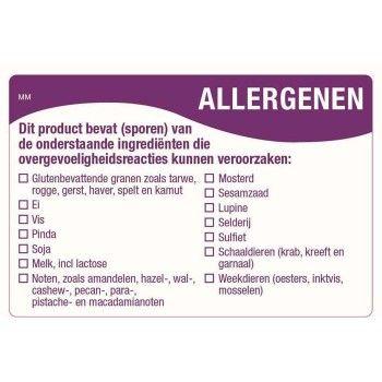 Afbeelding van HACCP allergenen stickers