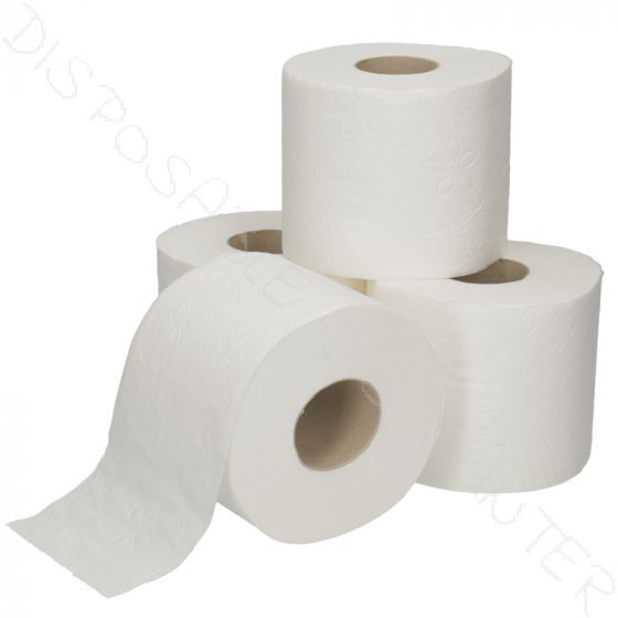 Traditioneel Toiletpapier cellulose 400 vels 2 laags