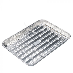Aluminium Grill Schaal 266x191x23mm