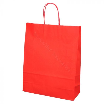 BIO Shopping Tas 32+12x41cm Rood