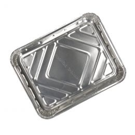 Menuschaal 1 vaks aluminium laag