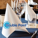 Double Point & Like Linen servetten bedrukt met logo!