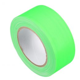 Markeringstape Duct Cloth Neon Gaffer 50mm x 25m groen