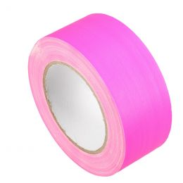 Markeringstape Duct Cloth Neon Gaffer 50mm x 25m roze