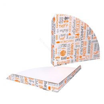 Karton Fast Food Tray 17x17x2cm Parole