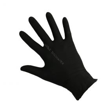 Handschoenen nitril Cat III ongepoederd XL zwart