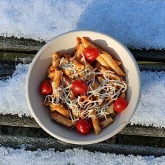 BIO Salade Poke Bowl suikerriet 1000ml wit