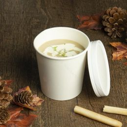 Soup to go beker 473ml wit