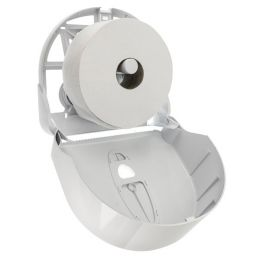Toiletrolhouder Dispenser voor Jumbo rollen Wit