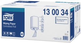 Poetsrol Tork wiping centerfeed Quick Dry 1 laags 130034