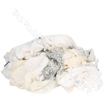 Poetsdoeken & Poetslappen Witte Tricot (WTR90) 10kg