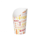 Karton Friet Container middel 480ml Parole