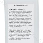 Handgel Desinfectie Alcohol 70% 500ml Eurofles