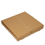 BIO Nature Kraft Pizzadozen 31,5x31,5x4,5cm bruin