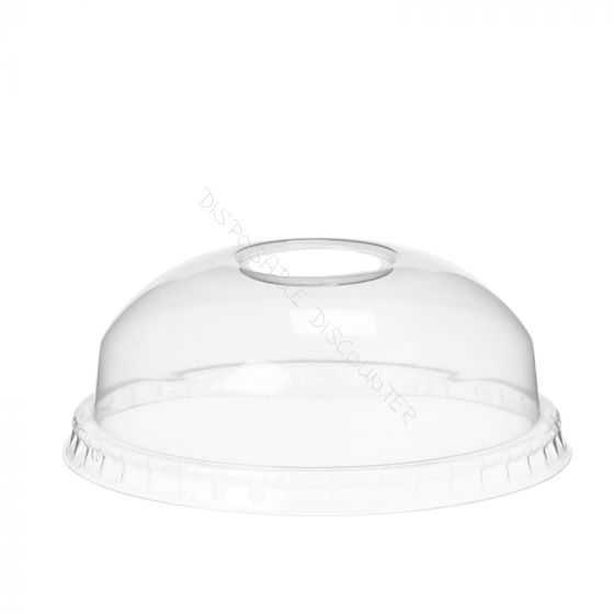 Deksel bol met gat 95mm (smoothie dome lid)