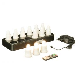 LED lampjes oplaadbaar warm wit