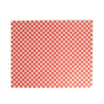 Papier Hamburgervellen rood wit 28x34cm