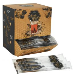 Honey Spoon / honinglepel per stuk verpakt in dispenserbox