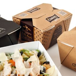 Oosterse maaltijd box bedrukt met logo!