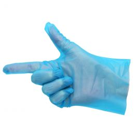 Handschoenen voor Sushi en Vet Voedsel Blauw S