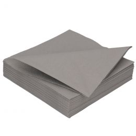 DiDi Tissue servet 40cm 2 laags grijs