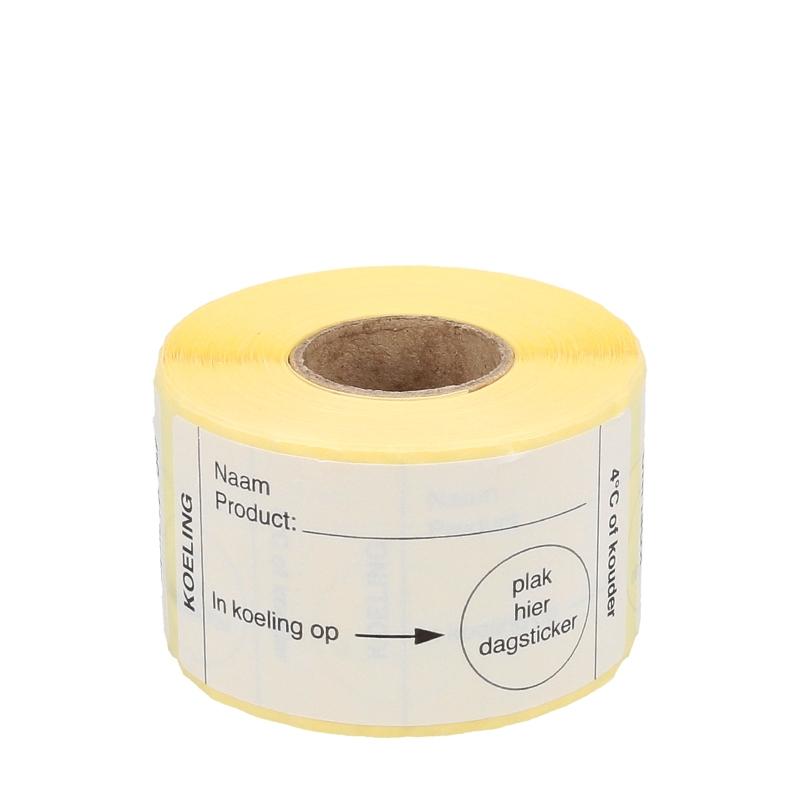 Afbeelding van HACCP stickers koeling