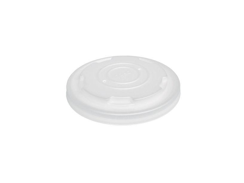Afbeelding van BIO deksel voor kartonnen soepbekers 250ml