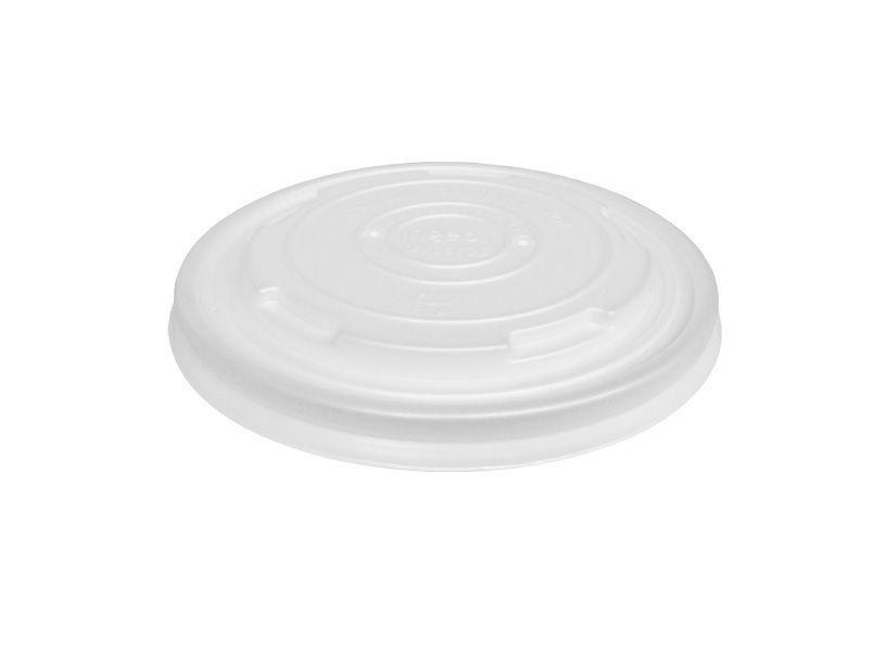 Afbeelding van BIO deksel voor kartonnen soepbekers 400/550/950ml