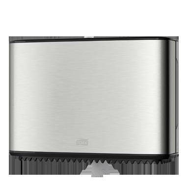 Dispenser Tork t2 design handdoek mini roll 460004 rvs