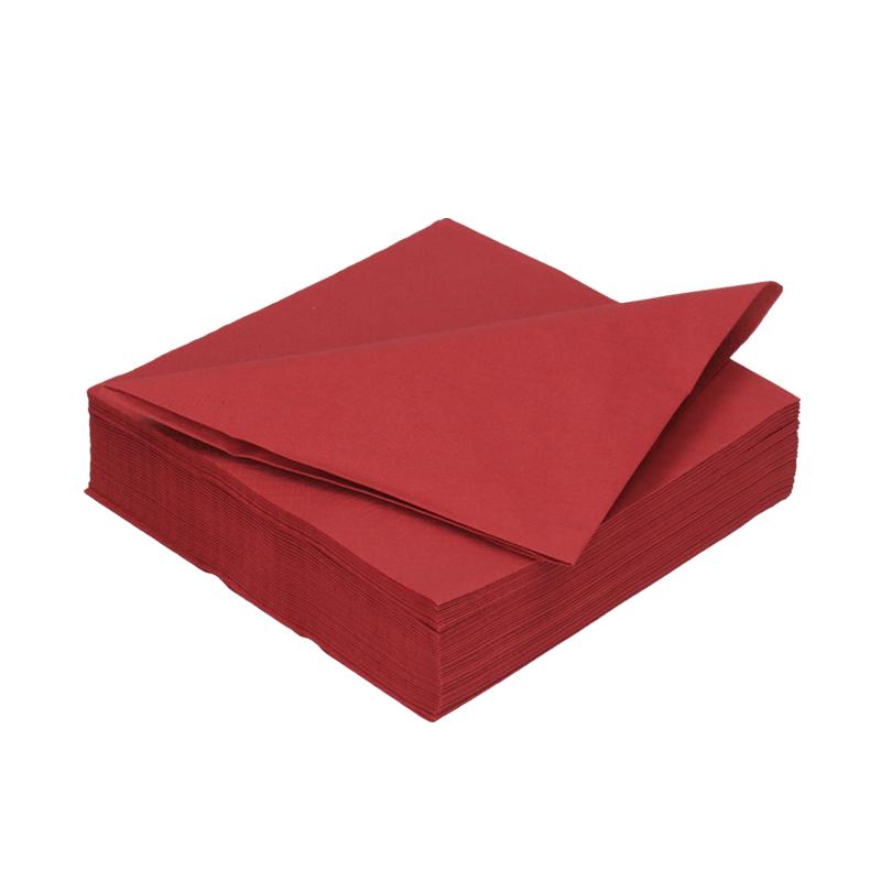 Afbeelding van DiDi Tissue servet 33cm 2 laags bordeaux