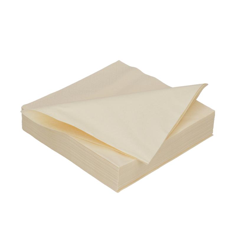 Afbeelding van DiDi Tissue servet 33cm 2 laags champagne