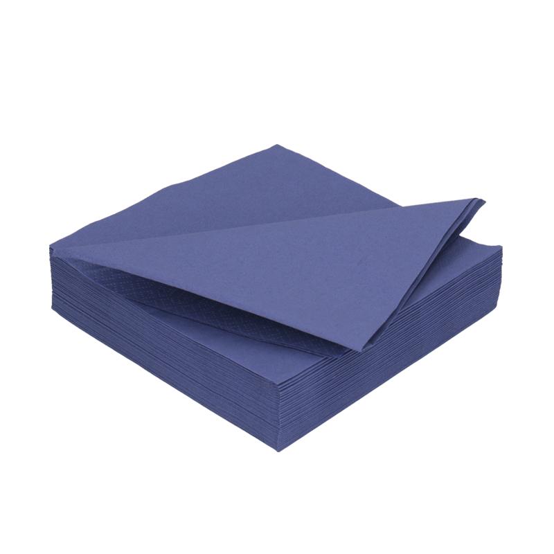 Afbeelding van DiDi Tissue servet 33cm 2 laags donkerblauw