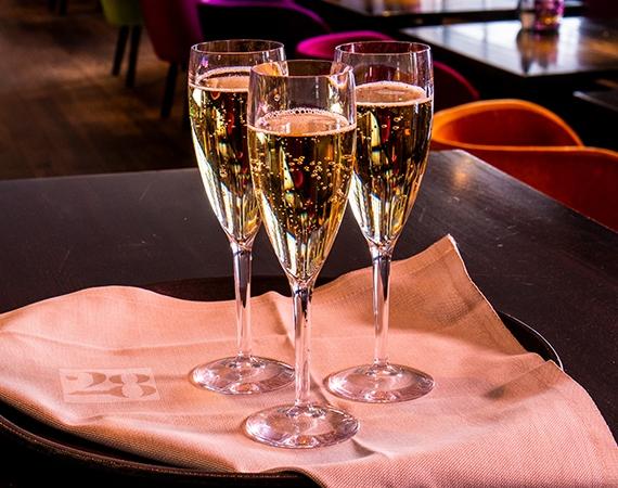 Luxe Oersterke Durable Champagneglazen!