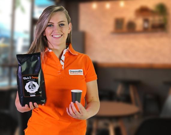 Ga voor onze Heerlijke Black & Orange Koffiebonen!