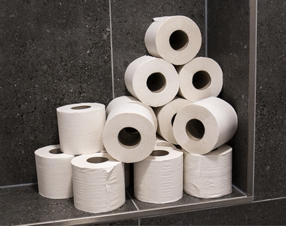 Toiletpapier inslaan? Goedkoper kan Niet!